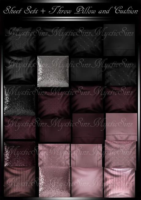 Sheet Sets and Pillows IMVU