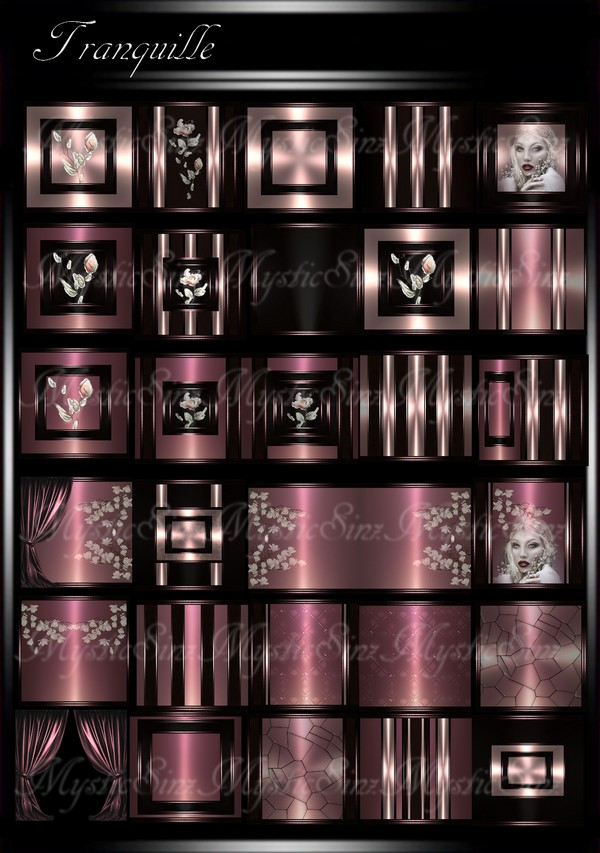 Tranquille IMVU Room Texture Collection