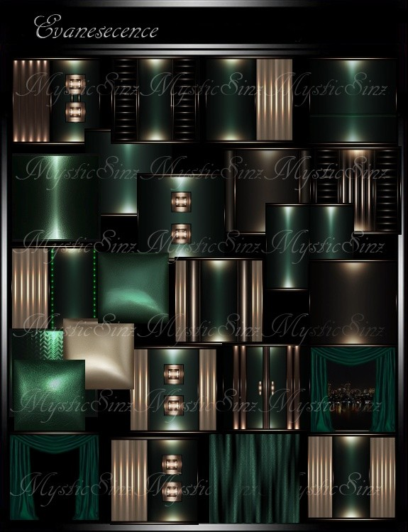 IMVU Tectures Evanescence Room Collection