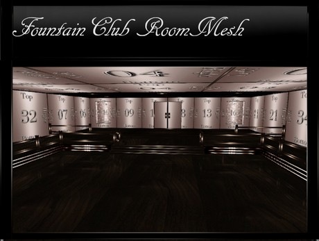 Fountain Club IMVU Room Mesh
