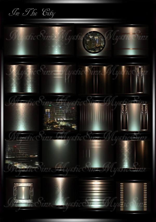 In The City IMVU Room Texture Collection