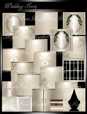 IMVU Wedding Ivory Room Collection