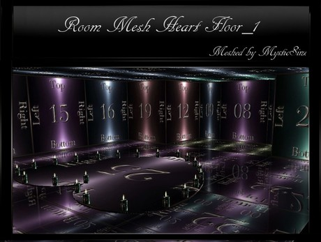 Room Mesh Heart Floor_1