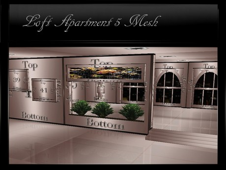 IMVU Loft Apartment 5 Mesh