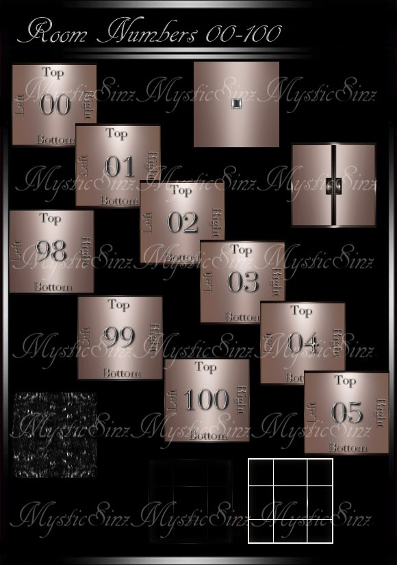 IMVU Room Mesh Numbers 00-100