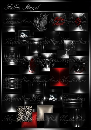 Fallen Angel IMVU Room Textures Collection