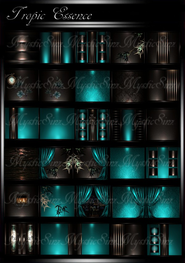 Tropic Essence IMVU Room Texture Collection