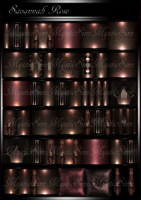 Savannah Rose IMVU Room Texture Collection