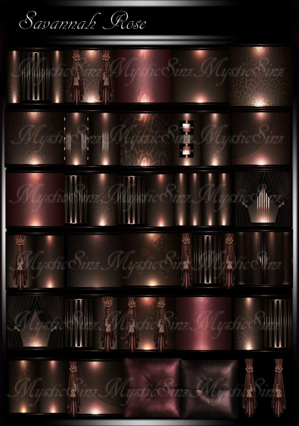Savannah Rose IMVU Room Texture Collection
