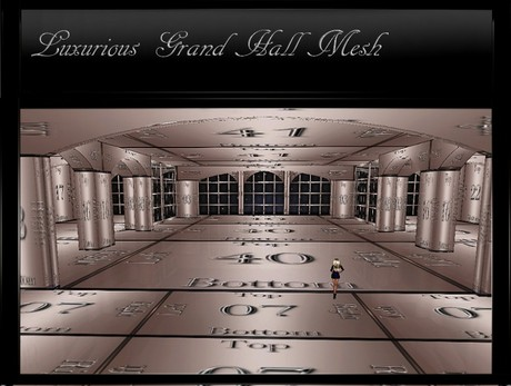 IMVU Luxurious Grand Hall Mesh