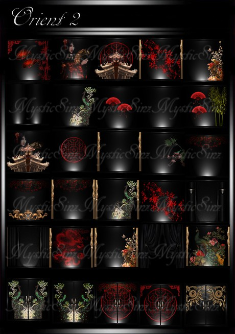The Orient-2 Room Texture Collection IMVU