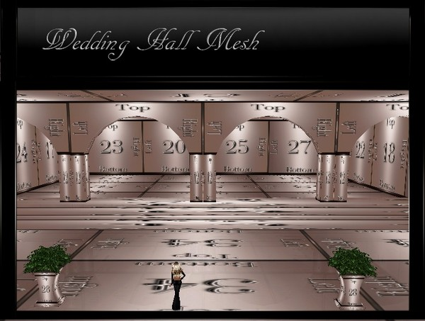 IMVU Wedding Hall Mesh
