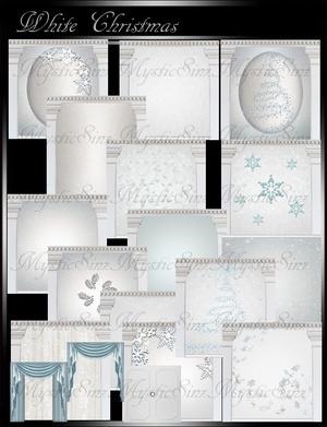IMVU White Christmas Room Collection