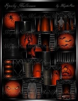 Spooky Halloween Room Textures IMVU