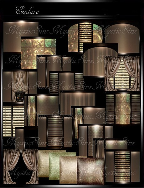 IMVU Textures Endure Room Collection