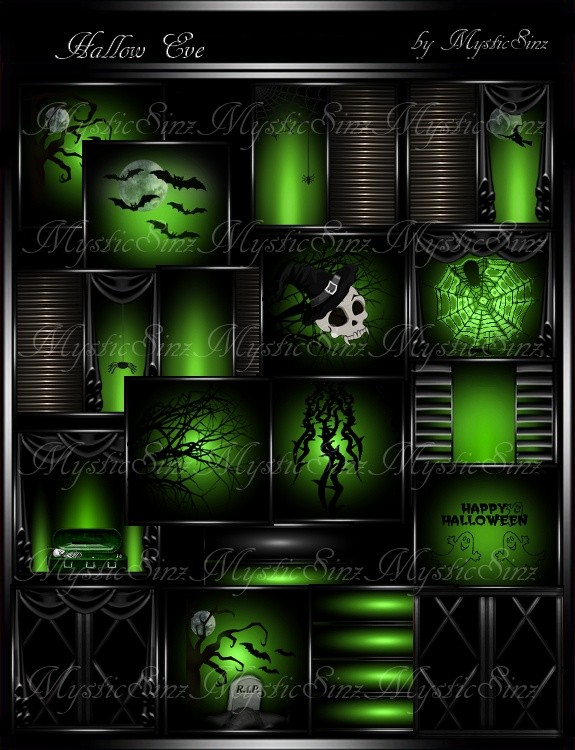 Hallow Eve Room Textures IMVU