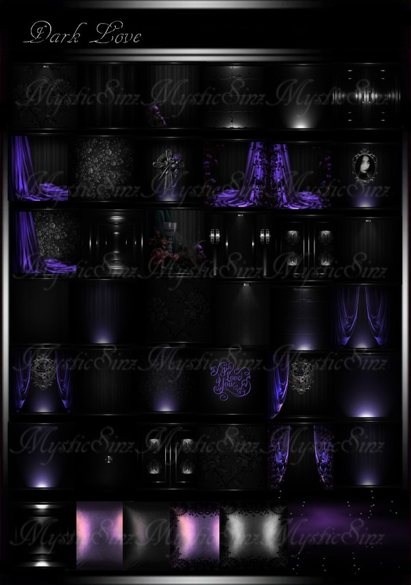Dark Love Room Collection IMVU