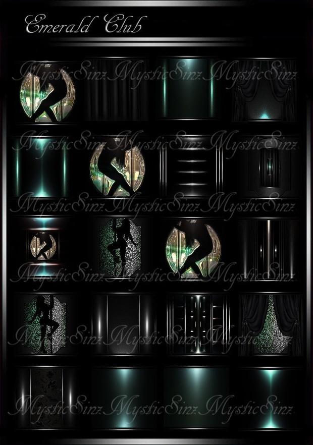 Emerald Club Room Collection IMVU