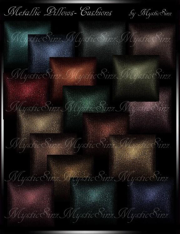 IMVU Metallic Fall Pillows