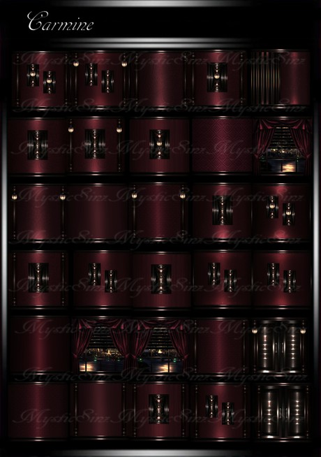 Carmine IMVU Room Texture Collection