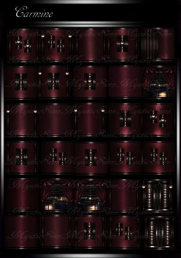 Carmine IMVU Room Texture Collection