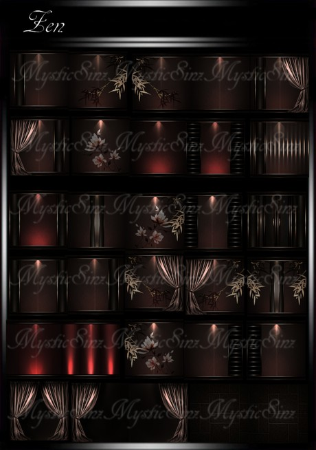 Zen IMVU Room Texture Collection