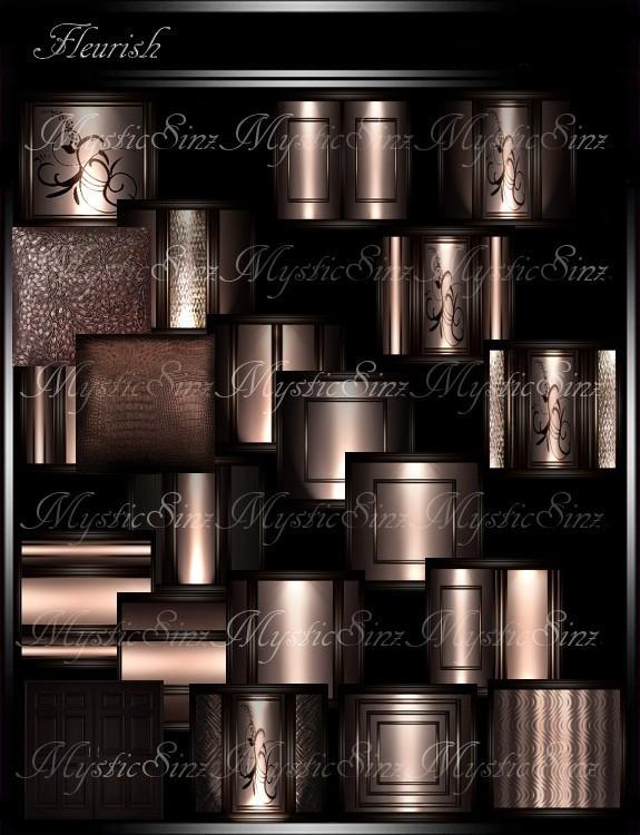 IMVU Textures Feurish Room Collection