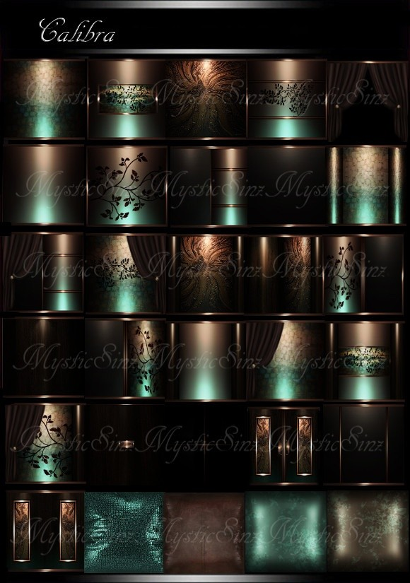 IMVU Textures Calibra Room Collection