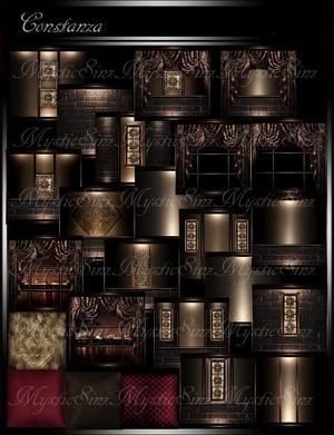 IMVU Textures Constanza Room Collection