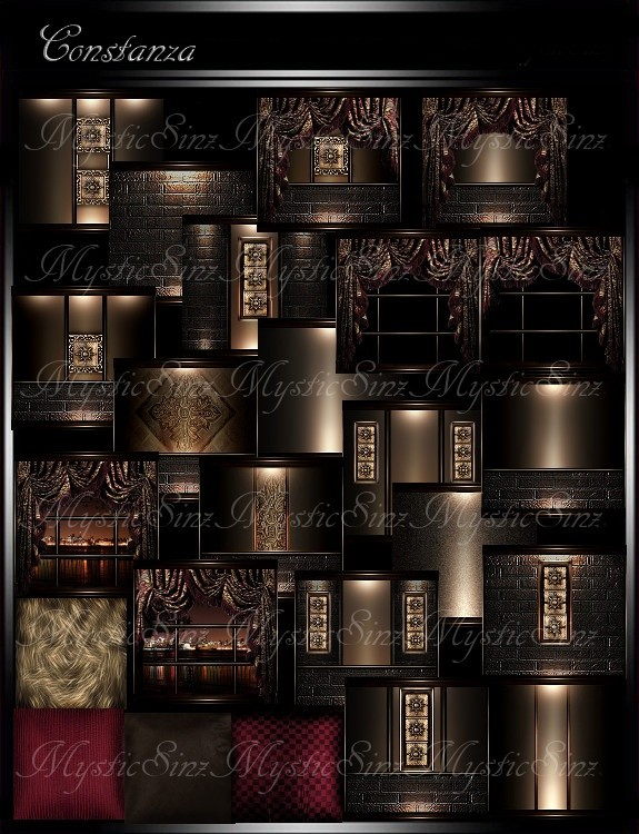 IMVU Textures Constanza Room Collection