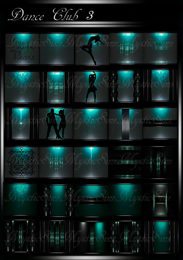 Dance Club 3 IMVU Texture Collection