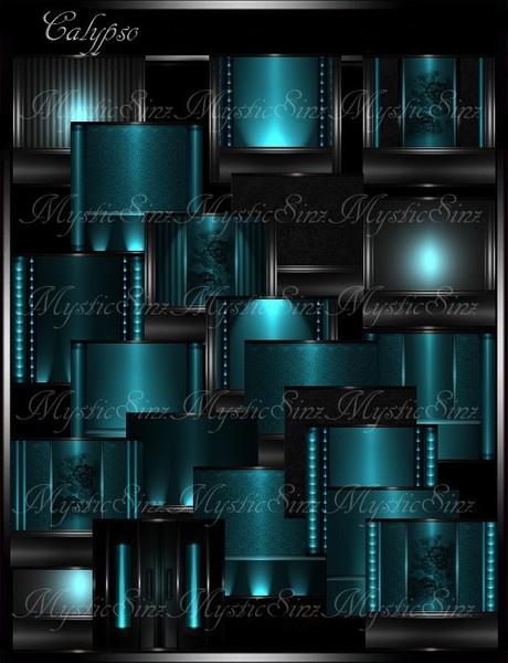 IMVU Textures Calypso Room Collection