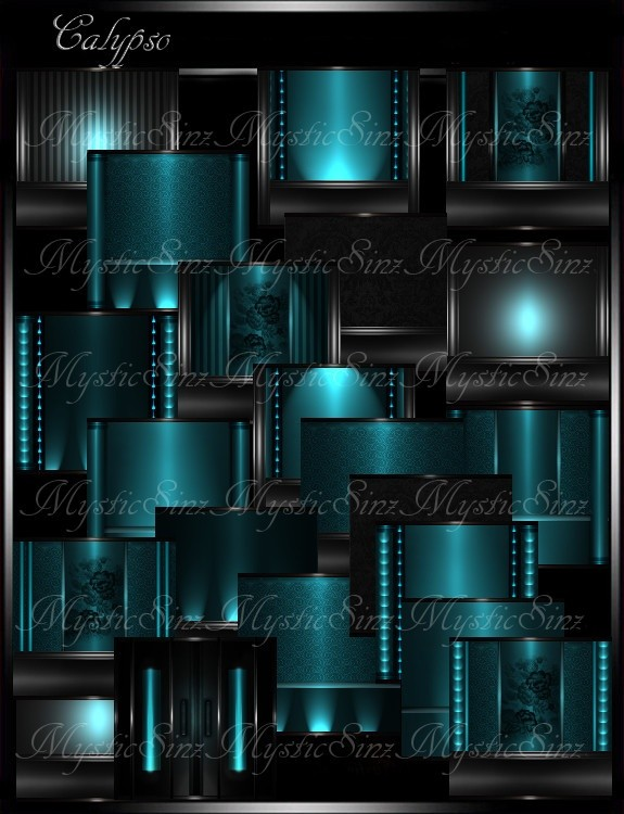 IMVU Textures Calypso Room Collection