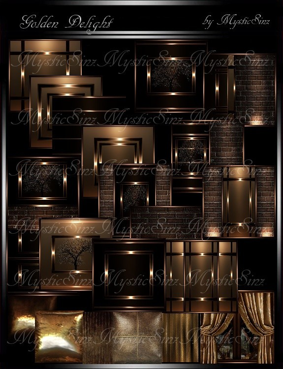 Golden Delight Room Collection