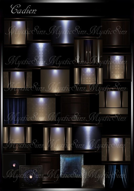 IMVU Cadien Room Collection