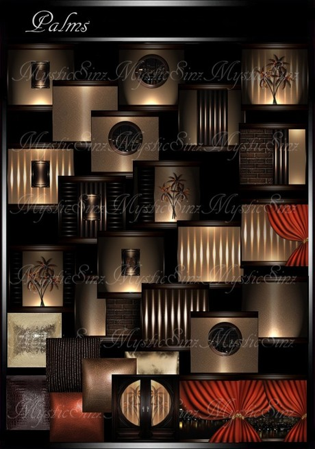 IMVU Textures Palms Room Collection