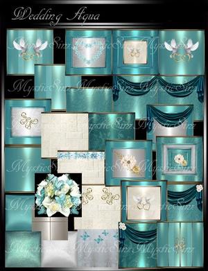 IMVU Textures Wedding Aqua
