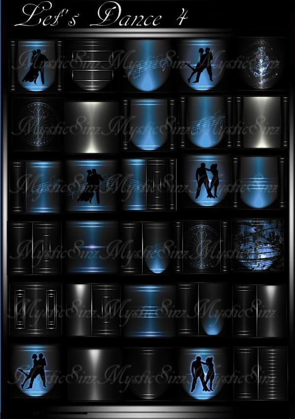 Let's Dance 4 IMVU Room Texture Collection