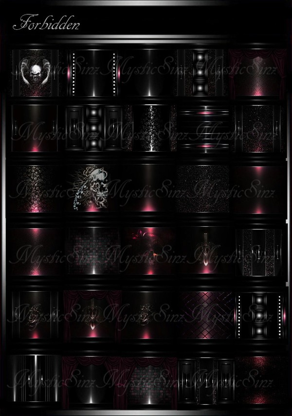 Forbidden IMVU Room Texture Collection