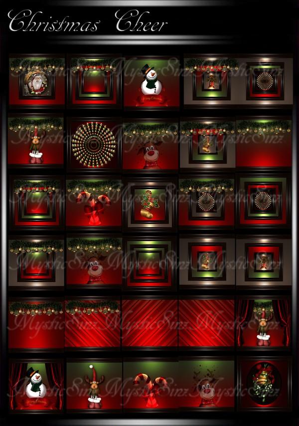 Christmas Cheer Room Texture Collection IMVU