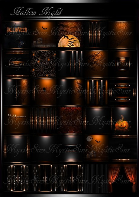 Hallow Nights IMVU Room Collection