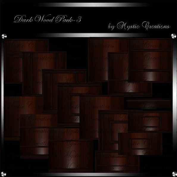 IMVU Textures Dark Wood 3