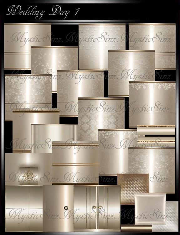 IMVU Room Textures Wedding Day 1