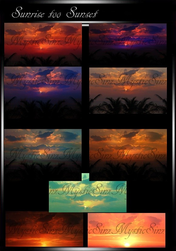 IMVU Sunrise to Sunset Skies