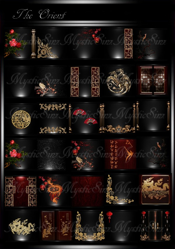The Orient Room Texture Collection IMVU