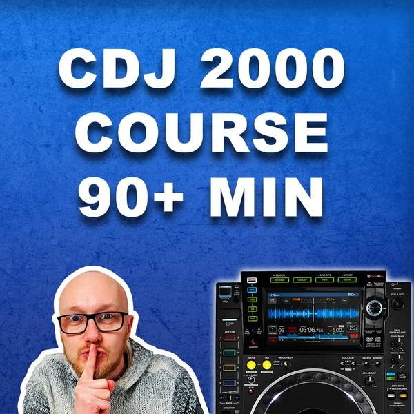 CDJ 2000 NXS 2 course