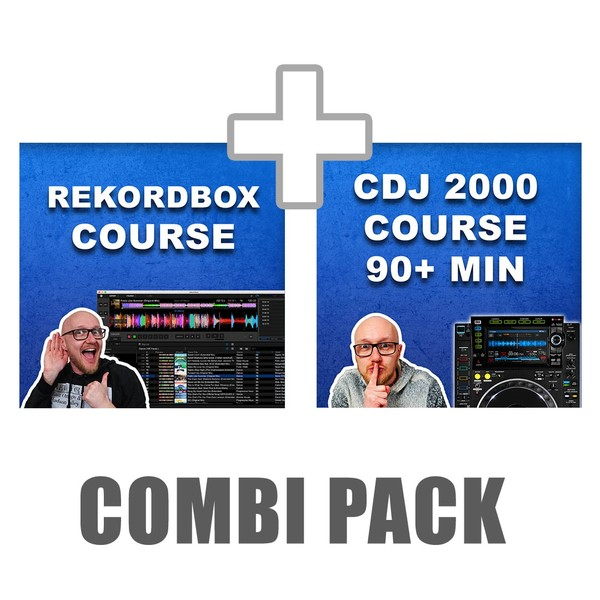 CDJ 2000 + Rekordbox Course combination