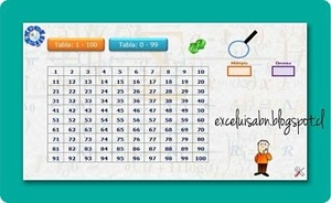 Ubica números en la Tabla del 100, versión 2.1.