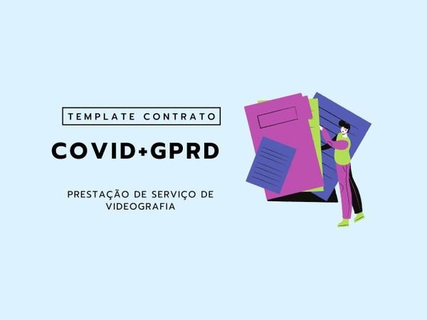 COVID+GPRD Template Contrato Prestação de Serviço de Videografia