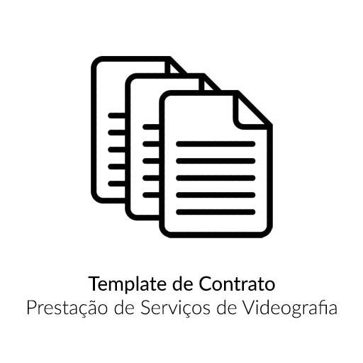 Template Contrato Prestação de Serviço de Videografia